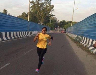 कोटा की दीपा ने रचा1000 किमी दौड़ने का कीर्तिमान