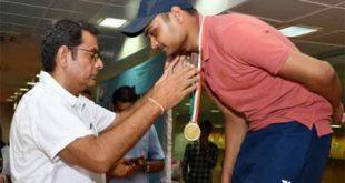 18वीं स्टेट शूटिंग चैम्पियनशिप में अमन ने जीते दो स्वर्णपदक