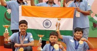 इंटरनेशनल अबेकस ओलम्पिकAIAMAमें चमके ट्रेंडज अबेकस के विद्यार्थी