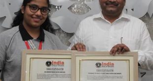 9वीं कक्षा की वंशिका ने बनाया चौथा व पांचवा विश्व रिकॉर्ड