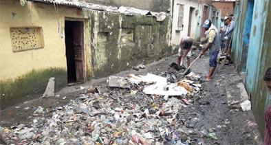 बाढ़ के बाद कोटा में महामारी फैलने कीआशंका