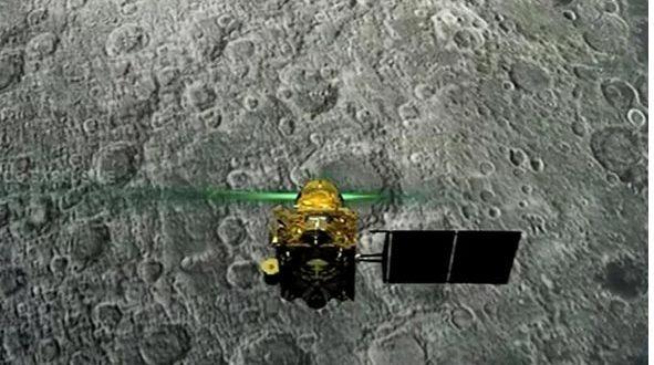 चंद्रयान-2 के लैंडर विक्रम की लोकेशन मिली