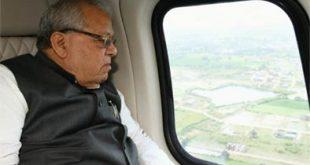 बाढ़ पीड़ितों को राज्यपाल द्वारा 50 लाख रूपये की मदद