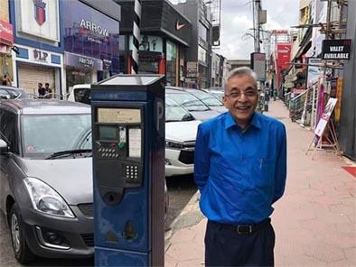 बैंगलुरू में पार्किंग वेंडिंग मशीन का अनूठा प्रयोग