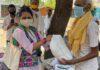 कोटा कोविड एड टीम ने ग्रामीणों में जगाया हौसला