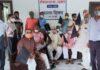भाजपा ओबीसी मोर्चा ने लोकतंत्र सैनानियों का सम्मान किया