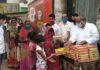 कोटा में वसुंधरा जन रसोई से जरूरतमंदों को मिल रही खाद्य सामग्री