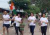 कोटा में 75 किमी रिले दौड़ ने बढ़ाई स्वास्थ्य जागरूकता